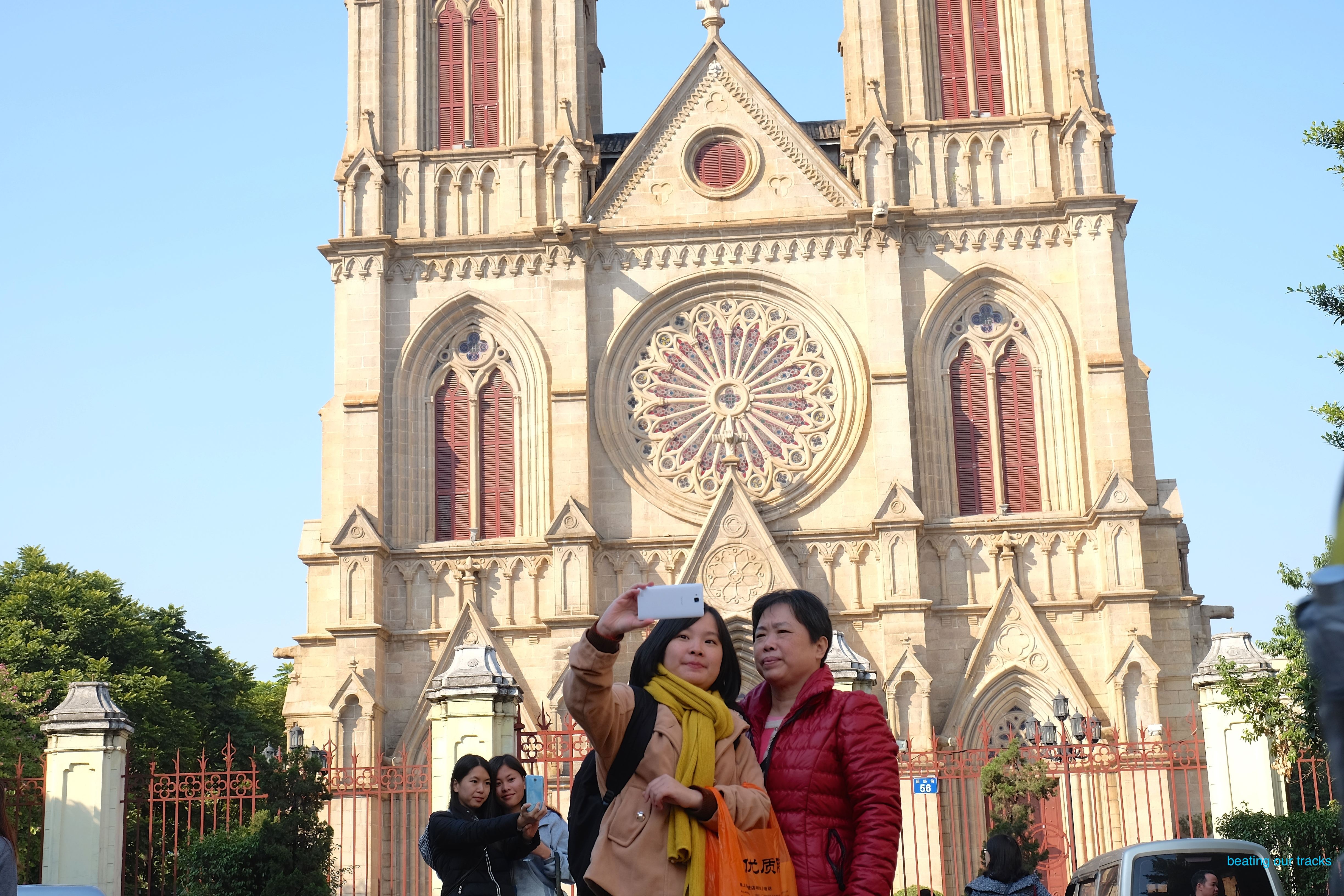 aeac5605993364 Where she stands – Sacred Heart Cathedral 耶稣圣心主教座堂 in ...
